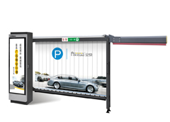 Parking Advertising Barrier for Indoor Parking
